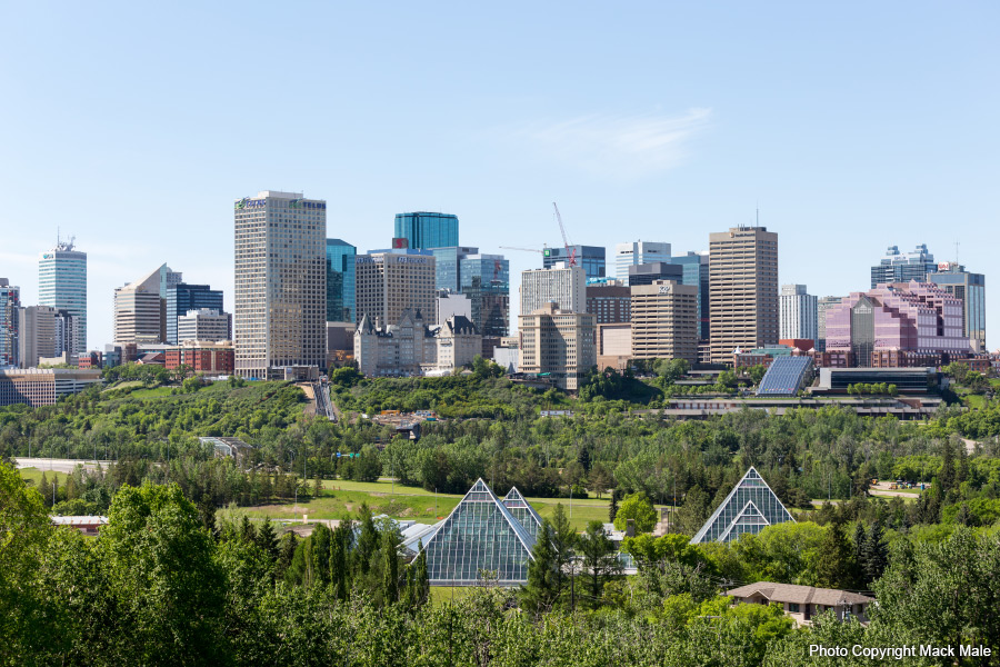 Edmonton Skyline - Photo Copyright Mack Male